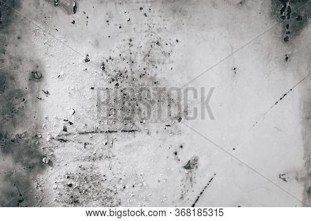 Patchy Gray Gradient Texture Metal Background, Toned