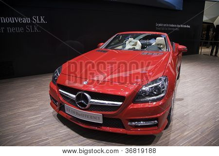 Mercedes Slk 250 Blueefficiency