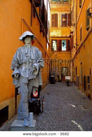 Street Performer Rome