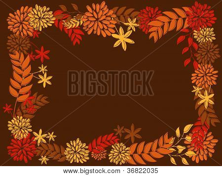Thanksgiving Frame Design
