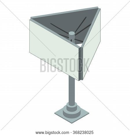City Add Icon. Isometric Of City Add Vector Icon For Web Design Isolated On White Background