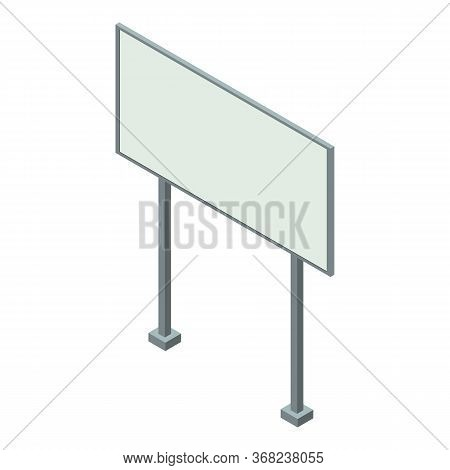 Billboard Icon. Isometric Of Billboard Vector Icon For Web Design Isolated On White Background