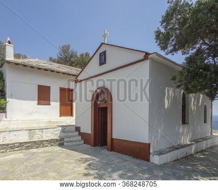 Agios Ioannis Sto Kastri At Skopelos Island At The Sporades In Greece