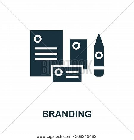 Branding Icon. Simple Illustration From Creative Package Collection. Creative Branding Icon For Web