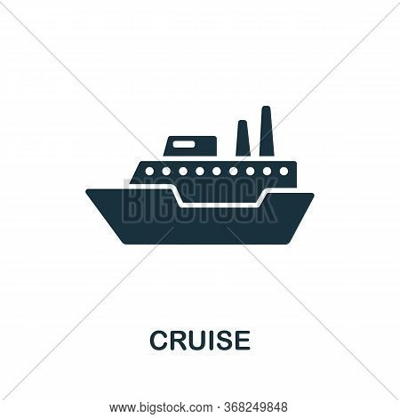 Cruise Icon From Australia Collection. Simple Line Cruise Icon For Templates, Web Design And Infogra