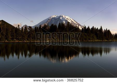 Mount Rainer and reflections
