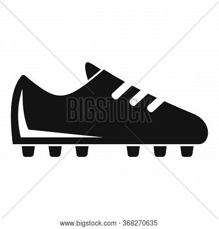 Soccer Boot Icon. Simple Illustration Of Soccer Boot Vector Icon For Web Design Isolated On White Ba