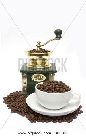 Beans Cup And Grinder