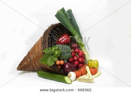 Vegetable Cornucopia