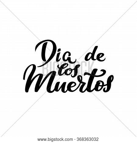 Day Of The Dead, Dia De Los Muertos Traditional Mexican Party, Halloween Banner, Monochrome Art And