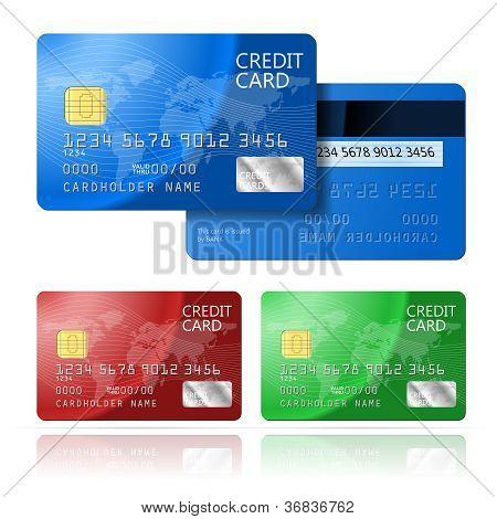 Credit Card 2 sides