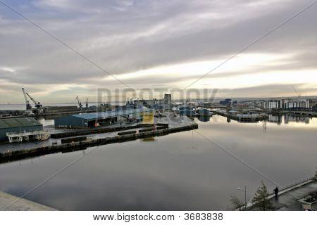 Leith Docks, Edinburgh, Scotland