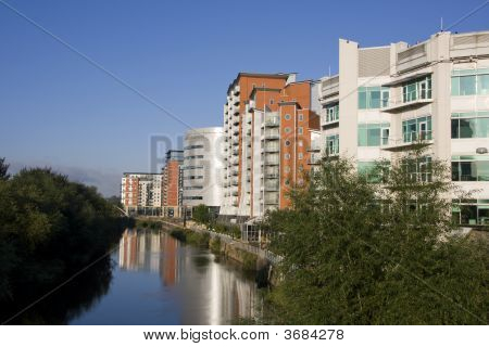Whitehall Quay, Leeds,  Offices , Apartments And Shops.