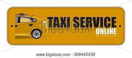 Orange Taxi Service Icon. Taxi Icon.auto, Button, City, Driver, Icons, Icons Web, Illustration, Onli
