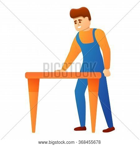 Repairman Icon. Cartoon Of Repairman Vector Icon For Web Design Isolated On White Background