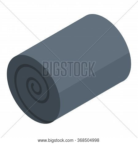 Blanket Roll Icon. Isometric Of Blanket Roll Vector Icon For Web Design Isolated On White Background
