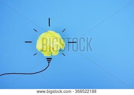 Creative Idea. New Idea, Innovation And Solution Concepts
