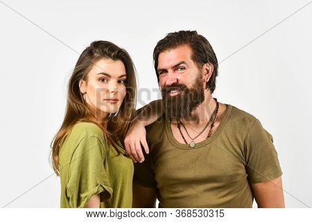 Man And Woman Embrace. Love Relationship. Couple In Love. Beauty Of Hair. Brutal Casual Fashion. Hip