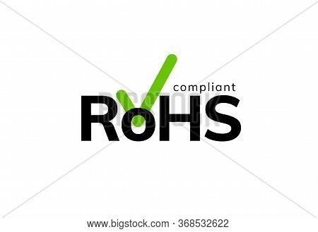 Rohs Recycle Icon Sign. Compliant China Energy Ce Label Global Symbol Package