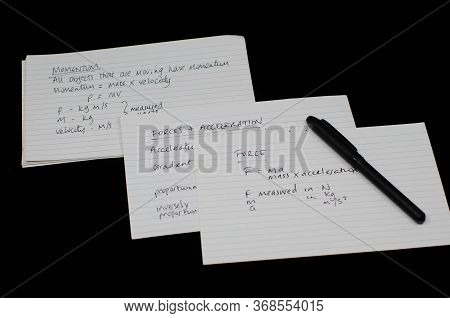 Gcse Physics Revision With Flash Cards And Exercise Book