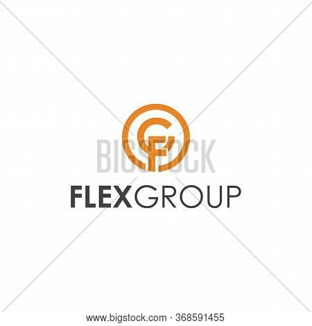 Flex Group Logo G, F And Symbol