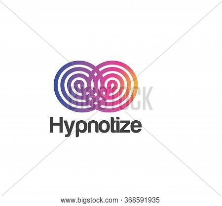 Hypnotize Logo Vector And Abstract, New, Symbol, Template