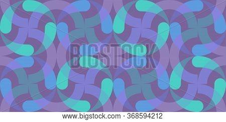 Luminescence Art Seamless Background. Abstract Fluorescence Colors Wallpaper. Modern Geometric Patte