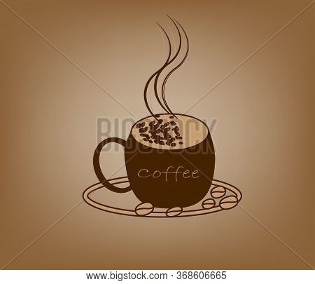 Coffee Hot Drink Cafe Design New Lable