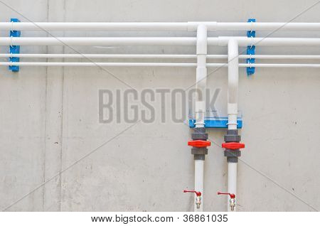 White Water Pipes
