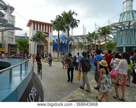 Sentosa, Sg - Apr 4 - Universal Studios Singapore Theme Park On April 4, 2012 In Sentosa, Singapore.