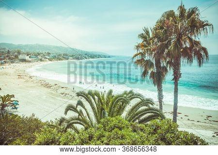 The Main Beach In Laguna Beach California