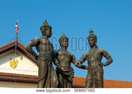 The Three Kings Monument Or Commonly Known As Three Kings Monument Is The Royal Monument Of The Crea