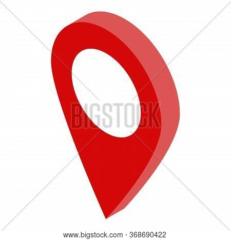 Travel Car Gps Point Icon. Isometric Of Travel Car Gps Point Vector Icon For Web Design Isolated On