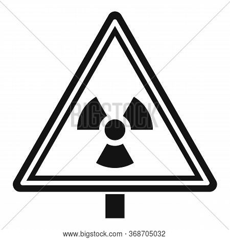 Danger Zone Caution Icon. Simple Illustration Of Danger Zone Caution Vector Icon For Web Design Isol