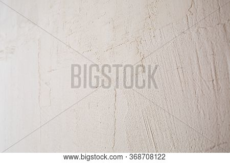 White Background Plastered Texture, Putty On A White Wall, Concrete Wall Texture Background, Cement