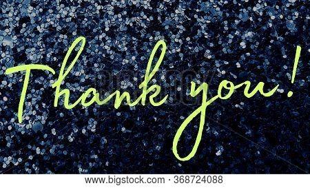 Thank You Text Appreciation Thanks Presentation Speech