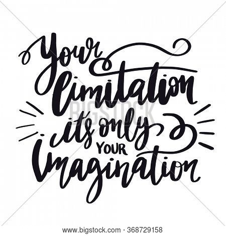 Quote - Look for the magic in every day with white background - High quality image