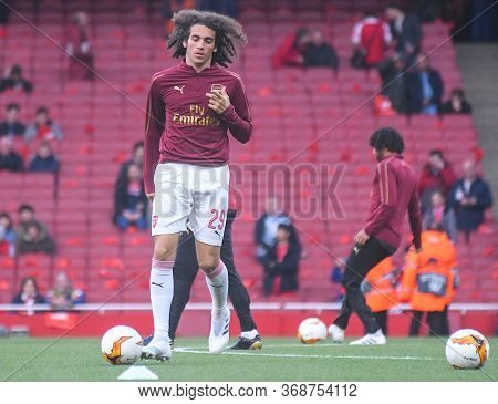 London, England - May 2, 2019: Matteo Guendouzi Of Arsenal Pictured Ahead Of The First Leg Of The 20