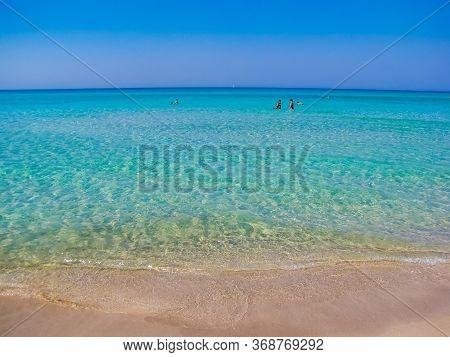 Amazing Beach In Ugento, Salento, South Italy