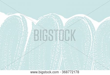 Grunge Texture. Distress Blue Rough Trace. Cool Background. Noise Dirty Grunge Texture. Attractive A
