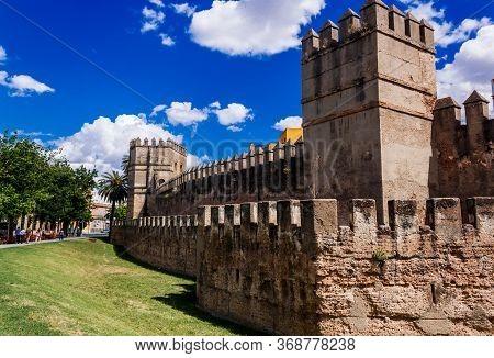Wall Of Seville Muralla Almohade De Sevilla Are A Series Of Defensive Walls Surrounding The Old Town
