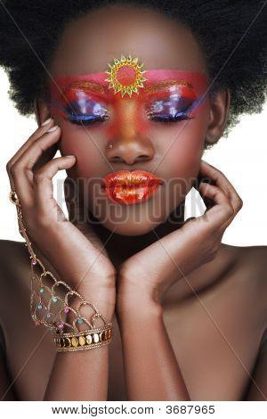 Afrikanische Schönheit