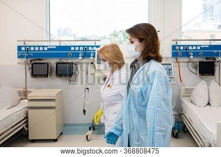 Preparing For Coronavirus Epidemic In Ukraine