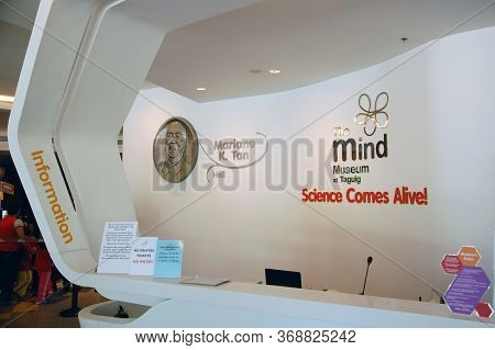 Taguig, Ph - Apr 19 - Mind Museum Information Desk On April 19, 2012 In Bonifacio Global City, Tagui