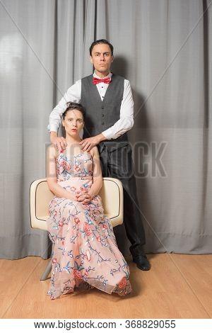 Solemn Portrait Of Marriage.