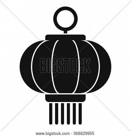 Celebration Chinese Lantern Icon. Simple Illustration Of Celebration Chinese Lantern Vector Icon For
