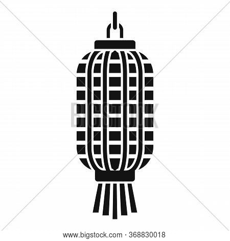 Japanese Lantern Icon. Simple Illustration Of Japanese Lantern Vector Icon For Web Design Isolated O