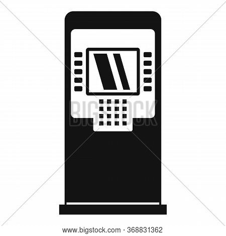 Finance Atm Icon. Simple Illustration Of Finance Atm Vector Icon For Web Design Isolated On White Ba
