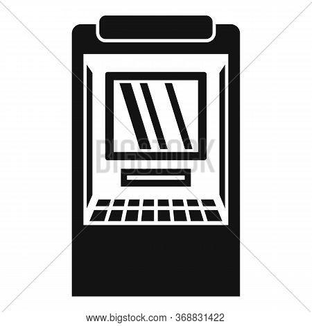 Balance Money Atm Icon. Simple Illustration Of Balance Money Atm Vector Icon For Web Design Isolated
