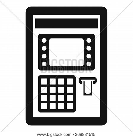 Atm Pin Code Icon. Simple Illustration Of Atm Pin Code Vector Icon For Web Design Isolated On White